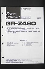 PIONEER GR-Z460 Original Stereo Equalizer Service-Manual/Anleitung/Schaltplan 80
