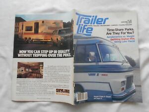 TRAILER LIFE Magazine-JANUARY,1982