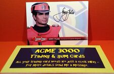 Captain Scarlet Unstoppable Cards, Magenta GF1 Gary Files Autograph Case Topper