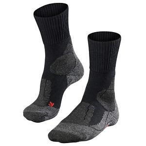 Falke Tk1 Mens Socks Walking - Black All Sizes