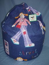 """Large Beanbag~ """"Street Babe ~ Filled And With Inner Liner ~ FREE P&P (E4)"""