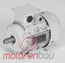Energiesparmotor IE2, 0,75kW, 1500 U/min, B3, 80B, Elektromotor, Drehstrommotor
