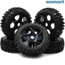 5pcs 1/8 Off Road Buggy Tires Tyres & Wheels for 1:8 Losi HPI XTR Badlands Car