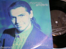 """7"""" - Thomas Anders / Can`t give you anything & Mas que Amor - MINT 1991 # 0695"""