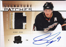 2009-10 UD THE CUP BOBBY RYAN /75 AUTO SIGNATURE PATCHES #SP-BR 09-10