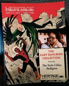 2011 HERITAGE Comics & Comic Art  auction book Spider-man cover Dahlberg colltn