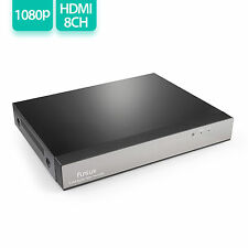 Funlux 8CH HDMI NVR CCTV Home Security Network Video Recorder No HDD