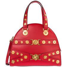 Versace Handtaschen damen tribute dbfg307-dv1t_d6tnt mittel Kalbsleder Rosso - N