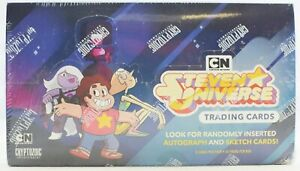 Steven Universe Trading Cards Hobby Box (Cryptozoic 2019) - BRAND NEW - WOW