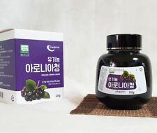 Organic Aronia Berry Extract Liquid Fruit Juice Health Sugar Free 220g
