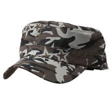Men Cap Army Hat Cadet Castro Military Patrol Baseball Summer Camouflage Hats