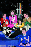 MIGHTY MORPHIN POWER RANGERS #1 KEVIN WADA 1:50 Variant Cover