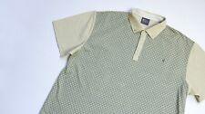 Gabicci Collezione Polo shirt men Short Sleeve top size XL ivory beige