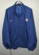 Team USA Soccer Windbreaker Jacket XL Nike Blue America US Futbol
