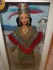 2004 Dolls Of The World Princess Of Ancient Mexico Barbie.