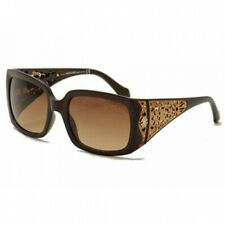 Roberto Cavalli RC804S-01B Women's Shiny Black Gradient Smoke Lens Sunglasses