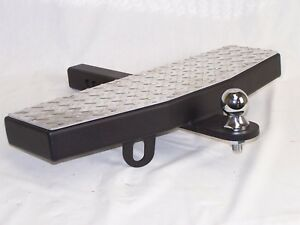"""24"""" Wide 2"""" Receiver Trailer Towing Extension Hitch Step MADE in the USA!"""