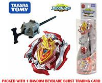 Takara Tomy Beyblade Burst Turbo B-105 Z Achilles.11.Xt Starter Set US Seller