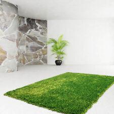 Tapis vert en polyester pour la salle de bain