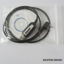 Software CD USB Programming Cable For Baofeng Two way Radio UV-5R BF-888S BF-F8+