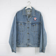 Vintage LEE Classic Blue Florida Trucker Denim Jacket Size Mens Large /R57019