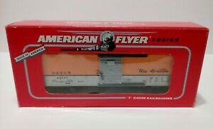 American Flyer (6-48204) S Scale TCA RIO GRANDE BOX CAR (54777)  LN/box