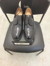 Loake Mens Brogue Shoes Sovereign Size 7.5 Black