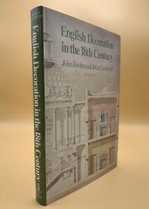 English Decoration In The 18th Century John Fowler & John Cornforth H/B 1980