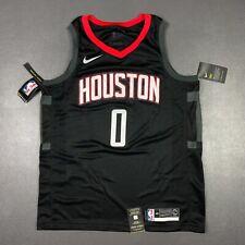 100% Authentic Russell Westbrook Nike Rockets Swingman Jersey Size 48 L Mens