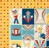 BoBunny 12x12 scrapbooking paper Firecracker collection, Anthem 2 sheets
