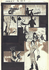 Kabuki Agents (Scarab) #4 p.2 - Babe with Gun - 2000 art by David Mack