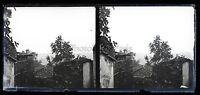 Thessalonica Vista Generale Da La Ville Grecia Placca Stereo Negativo