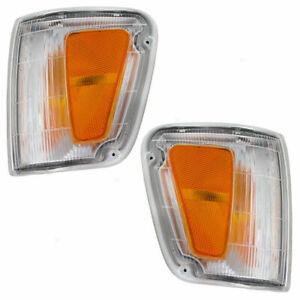 FOR TY T100 1993 1994 1995 1996 1997 CORNER LAMP RIGHT & LEFT