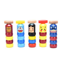 Little Small Wooden Unbreakable Man Puppet Novelty Funny Toy Creativ@