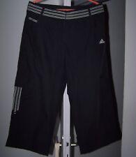 -60% NEUF 50€ Pantacourt ADIDAS T 42 Noir & Blanc pantalon de sport jogging l xl