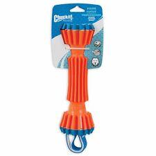 "Chuckit Rugged Bumper Medium Rough Nylon Loop Straps Floating Dog Toy 18""x3"""