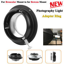 Softbox Photography Light Adapter Ring Convertor for Broncolor Mount Flash Light