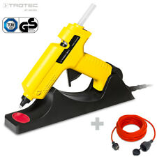 TROTEC Heißklebepistole PGGS 10-230V | Heissklebepistole Set kabellos Heißkleber