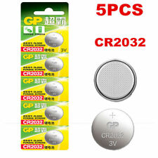 5PCS/pack 3V GP CR2032 DL2032 2032 Button Cell Coin Battery Batteries New