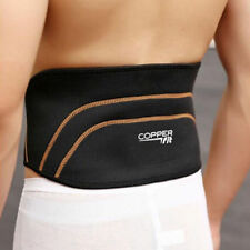 Men Copper Fit Back Pro As Seen On TV Compression Lower Lumbar Support Belt PF