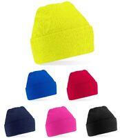 Girls Boys Childs Childrens Kids Knitted Soft Acrylic Warm Winter Ski Beanie Hat
