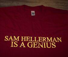 SAM HELLERMAN IS A GENIUS Dr Frank Portman King Dork T-Shirt SMALL NEW