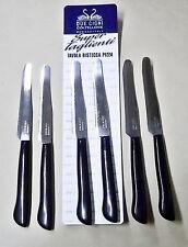 Due Cigni set 6 coltelli super taglienti da tavola,pizza,bistecca art. 2C 1717