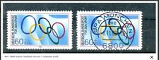 1980 Gscheidle -Marke  Manheim +  used Bundespost Olympic stamp with Gum