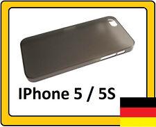 2 Stück iPhone 5 / 5S Hüllen:  1.Superslim  und 2.Alu-Chrom  Case Schutzhülle
