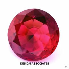 Lab-Created Round Loose Lab-Created Rubies not Star Ruby for