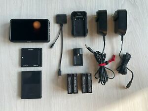 "Atomos Ninja V 5"" 4K HDMI Recording Monitor + extras. 500 gig hdd, power supply."