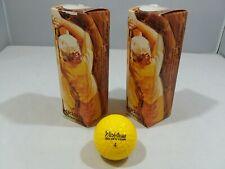 New ListingVintage MacGregor Jack Nicklaus 6 Golf Balls Golden Bear Nib Yellow Made in Usa