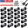 Lot USB-C Type C Cable Fast Charging Cord For Samsung Galaxy S8 S9 Plus Note 8 9