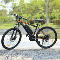 26INCH Electric Bike Mountain Bicycle Ebike 10.4A Lithium-Ion Battery,350W Motor